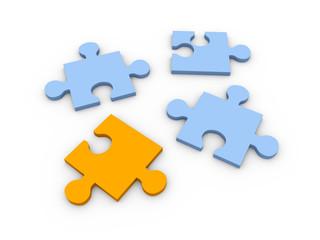 Fehlendes Puzzle Stück