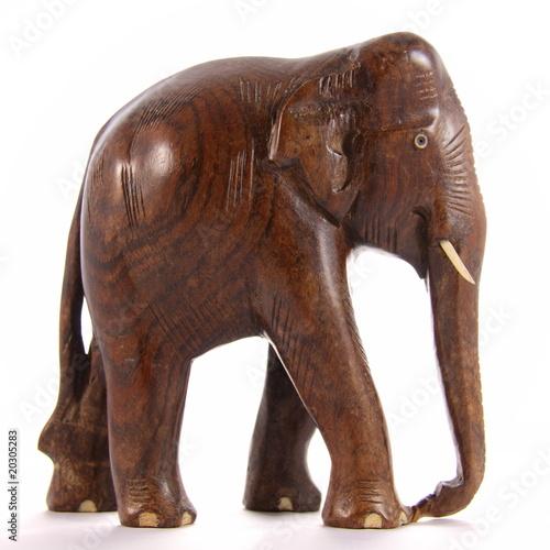 elephant en bois de rose photo libre de droits sur la banque d 39 images image 20305283. Black Bedroom Furniture Sets. Home Design Ideas