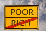 poor rich poster