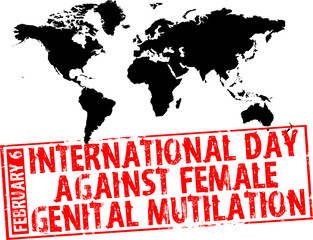 february 6 - day against female genital mutilation