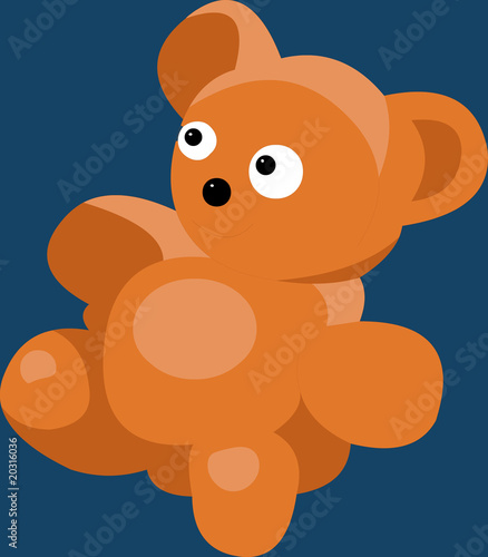 Vector model of bear