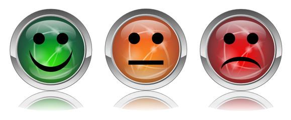 """Boutons web ronds vecteurs """"Sondage"""" (enquête avis opinion)"""