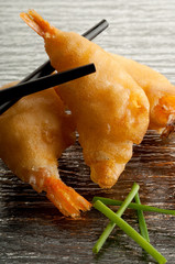 gamberi fritti cinesi