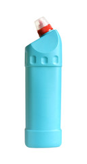 Plastic blue bottle
