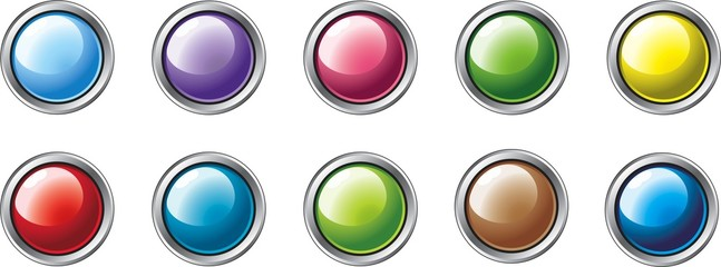 Multi-Coloured Buttons 2
