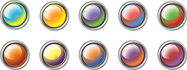 Multi-Coloured Buttons 1