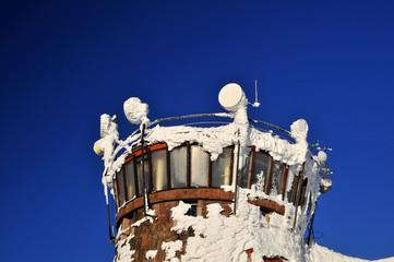 Berg  Station - Restauration und Fernmeldeturm