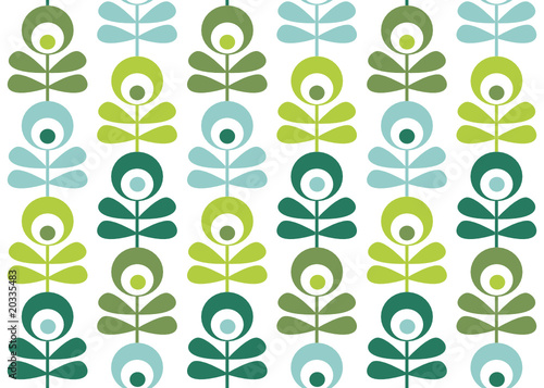 seamless retro pattern vector illustration © karika