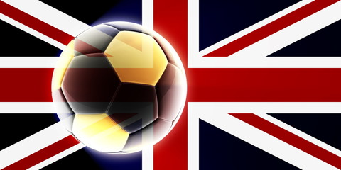 Flag of United Kingdom soccer