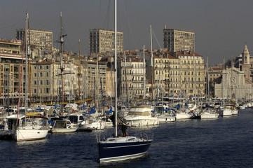 France, Marseille, Vieux Port