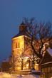 Leinwandbild Motiv Wesenberg, Marienkirche