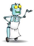 servant Robot certified poster