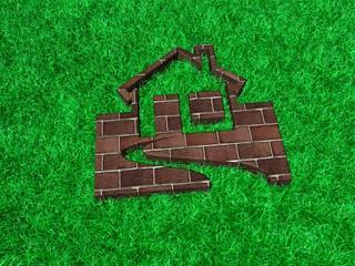 Haus im Grass