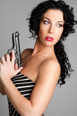 Gun Woman
