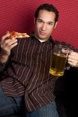 Pizza and Beer Man