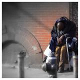 Fototapety Broken American Hero - Harlem, NYC, USA