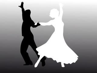 Uomo e donna che ballano