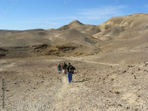 Hiking in Judean Desert
