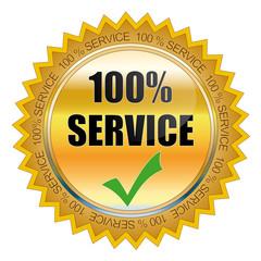 100 % Service Siegel