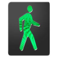 Fußgänger Ampel grün