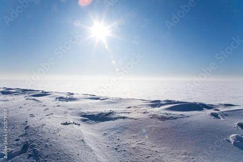 Ice cold desert - 20379088