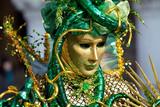 Venice Mask V4 Medusa poster