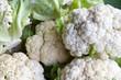 cauliflower  heads