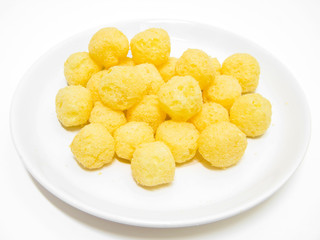 Cheese Puff Balls.