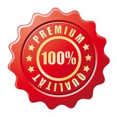 100% Premium Qualität Siegel
