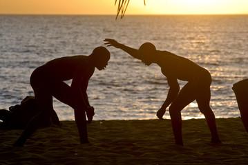 wrestling in senegal