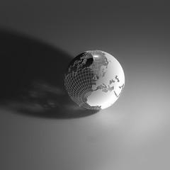 mondo, world globe