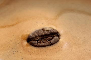 crema di caffe' con chicco