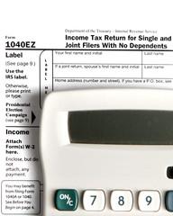 Tax form EZ