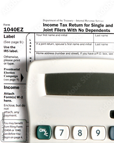 Tax form EZ