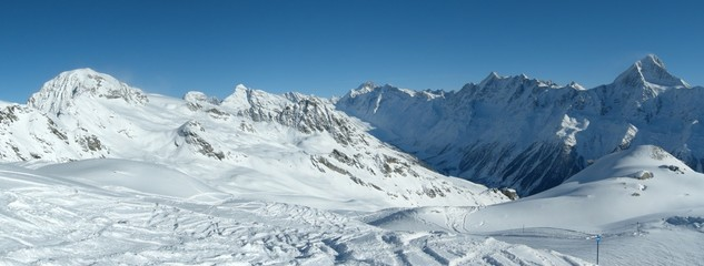 Ski, Snowboarding in the Alps / Ski, Snowboard in den Alpen