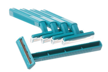 Disposable Razors Isolated