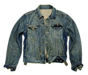 Denim jacket unbuttoned
