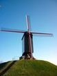 St John`s Windmill, Bruges Belgium