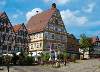 Central square in Stuttgart - Leonberg, Baden Wurttemberg