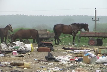 Landfill, garbage and waste