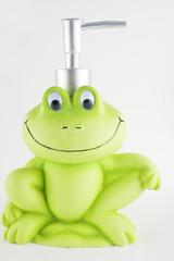 Froggy soap dispenser