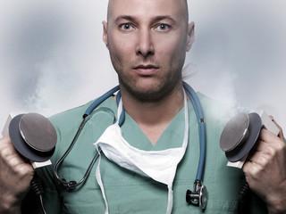 Herzstillstand Defibrillator