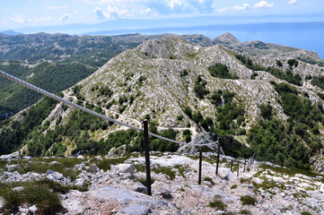 View from Sv. Jure in Croatia