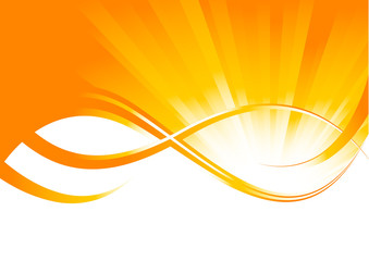 Vector sunny background
