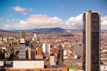 Downtown, Bogota, Colombia, South America