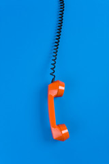 Orange telephone hook