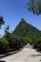 Corcovado Mountain with Christ Redeemer Statue, Rio de Janeiro