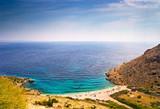 Croatian coast summer poster