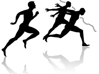 Track and field athletics theme