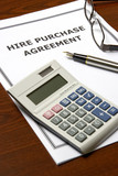 Hire Purchase Agreement poster